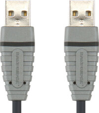 Кабель USB 2.0 AM-AM Bandridge BCL4802 (2 метра)